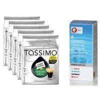 AHORRO Tassimo Long Delicat 4 ud+ Descalcificador