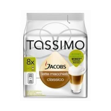 Tassimo Jacobs Latte Macchiato Clasico 8 bebidas