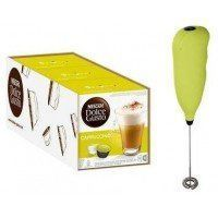 Dolce Gusto Cappuccino 3 Packs + Batidor