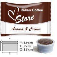 Cápsulas Espresso Point Compatibles Aroma y Crema 50 ud