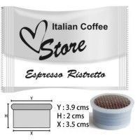 Cápsulas Espresso Point Compatibles Ristretto 50 ud