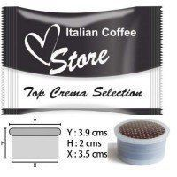 Cápsulas Espresso Point Compatibles Top Crema 50 ud
