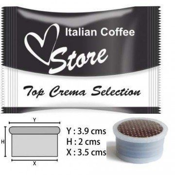 Espresso Point Top Crema Cremoso 50 ud