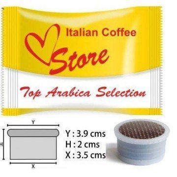 Espresso Point Top Arabica Dolce 50 ud