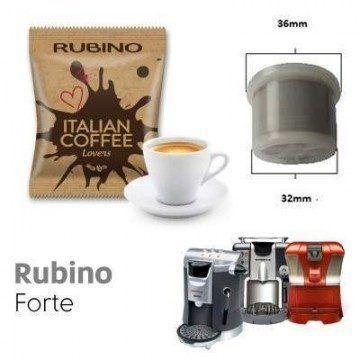 Espresso Cap/Due/Gimoka/Squesito Compatible Rubino 50 ud