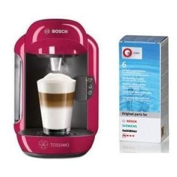 Cafetera Tassimo Vivy + Descalcificador Bosch