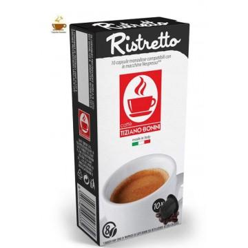 Tiziano Bonini Nespresso®* Ristretto 10 ud