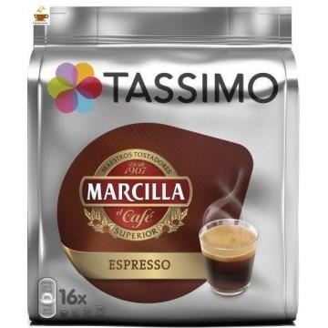 Capsulas Tassimo Marcilla Espresso 16 bebidas
