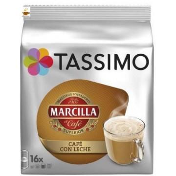 Tassimo Marcilla Café con Leche 16 T Discs