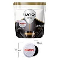 Uno System Kimbo Sublime 100% Arábica 16 bebidas