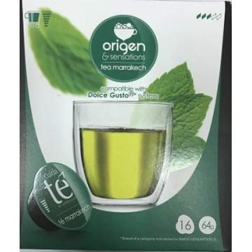 Origen Dolce Gusto®* Te Verde Marroquí 16 Bebidas