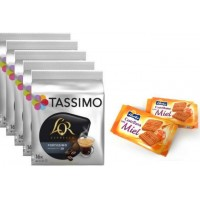 Tassimo L`Or Fortissimo 5 Packs + Galletas