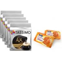 Tassimo L`Or Capuchino 5 Packs + Galletas