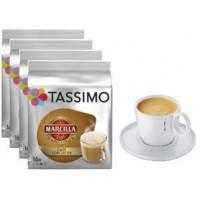 SAIMAZA CAFE CON LECHE 5  PACKS +2 TAZAS TASSIMO