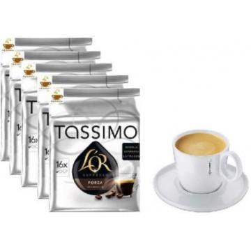 Tassimo L`Or Forza 5 ud +1 Taza Tassimo