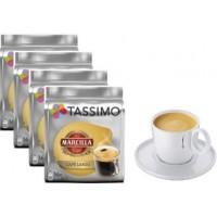Marcilla Café Largo 4 Packs +1 Tazas Tassimo