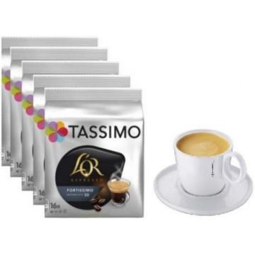 L`Or Fortissimo 5 ud + 1 Taza Tassimo