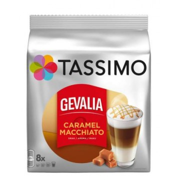 Tassimo Gevalia Latte Macchiato Caramel 8 bebidas