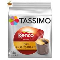 CAPSULAS TASSIMO KENCO PURE COLOMBIAN 5,99 PACK 16 T DISCS