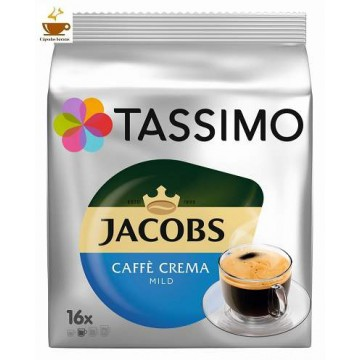 Tassimo Jacobs Crema Mild 16 Bebidas