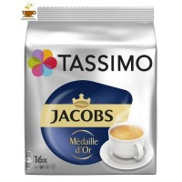 CAPSULAS TASSIMO TASSIMO JACOBS MEDAILLE D'OR 16 ud