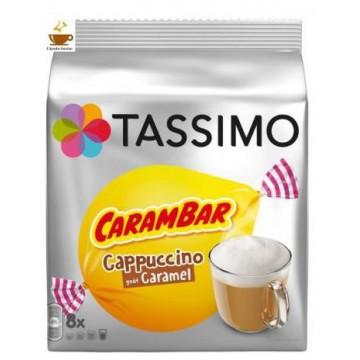 Tassimo Cappuccino Carambar 8 bebidas