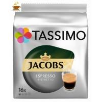 TASSIMO JACOBS ESPRESSO RISTRETTO  16 ud