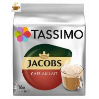 TASSIMO JACOBS CAFE AU LAIT 16 td