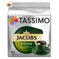 TASSIMO JACOBS KRÖNUNG KAFFEE 16 td