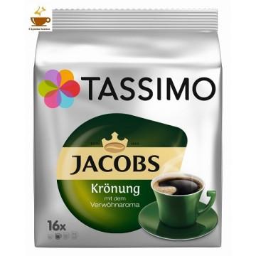Tassimo Jacobs Krönung Kaffee 16 Bebidas