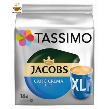 Tassimo Jacobs Crema Mild Xl 16 Bebidas
