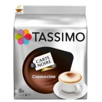 CAPSULAS TASSIMO CARTE NOIRE CAPPUCCINO 16UD
