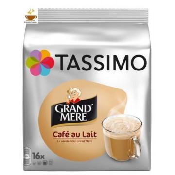 Tassimo Grand Mère Cafe Au Lait 8 Bebidas