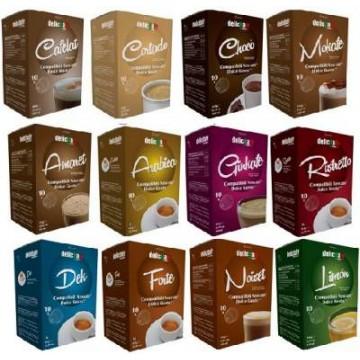 Compatibles Dolce Gusto®* Degustacion 120 Capsulas