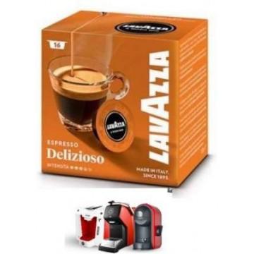 Delizioso Cafe A Modo Mio 16 Capsulas
