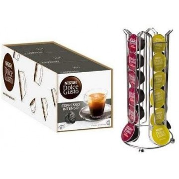 Dolce Gusto Intenso 48 bebidas + Dispensador
