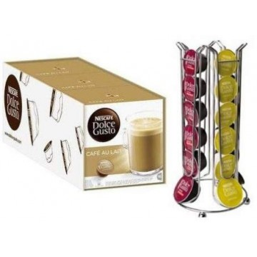 Dolce Gusto Cafe Con Leche 48 + Dispensador