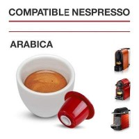 Compatibles Nespresso®* Arabica  100 ud