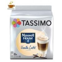 Tassimo  Maxwell House Latte Vainilla 8 bebidas