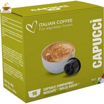 Compatibles Dolce Gusto®* Capuccino 16 Bebidas