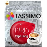 Tassimo Paris Cafe Long 16 bebidas