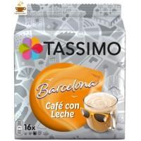 Tassimo Barcelona Café con Leche 16 bebidas