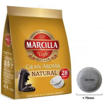 Capsulas Marcilla Senseo Natural 28 ud