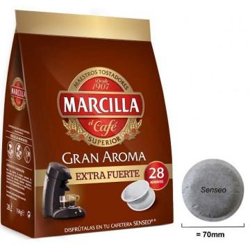 Cafe Senseo Marcilla Extra Fuerte 28 Cápsulas