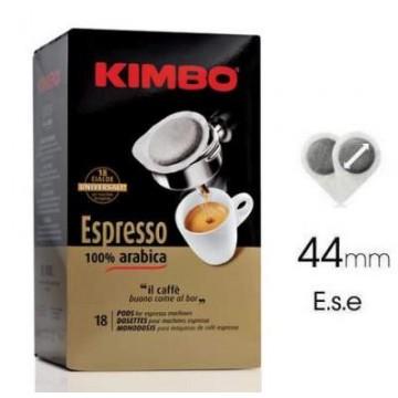 Monodosis Ese Kimbo 100% Arabica 18 ud