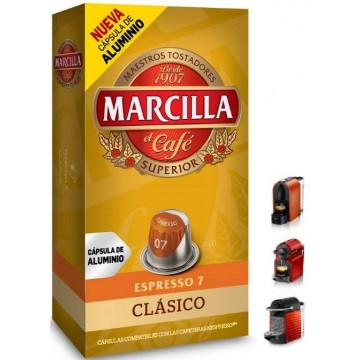 NUEVAS Capsulas Marcilla Clasico 10 ud