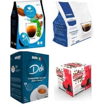 Kit Variado Compatibles Dolce Gusto® Descafeinado 64 ud