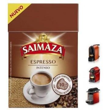 Saimaza Nespresso®* Espresso Intenso 10 ud