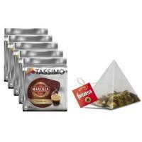 Tassimo Marcilla Expresso 64 bebidas + 25 Te Piramides