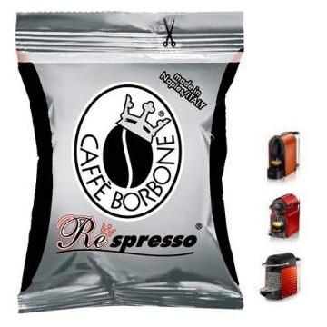 Cafe Borbone Nespresso Nera Krups 50 ud